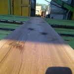 2x12 Western Red Cedar on the chain