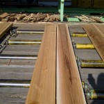 2x8 Western Red Cedar on the chain