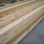 6x6 S4S Appearance Knotty Timber