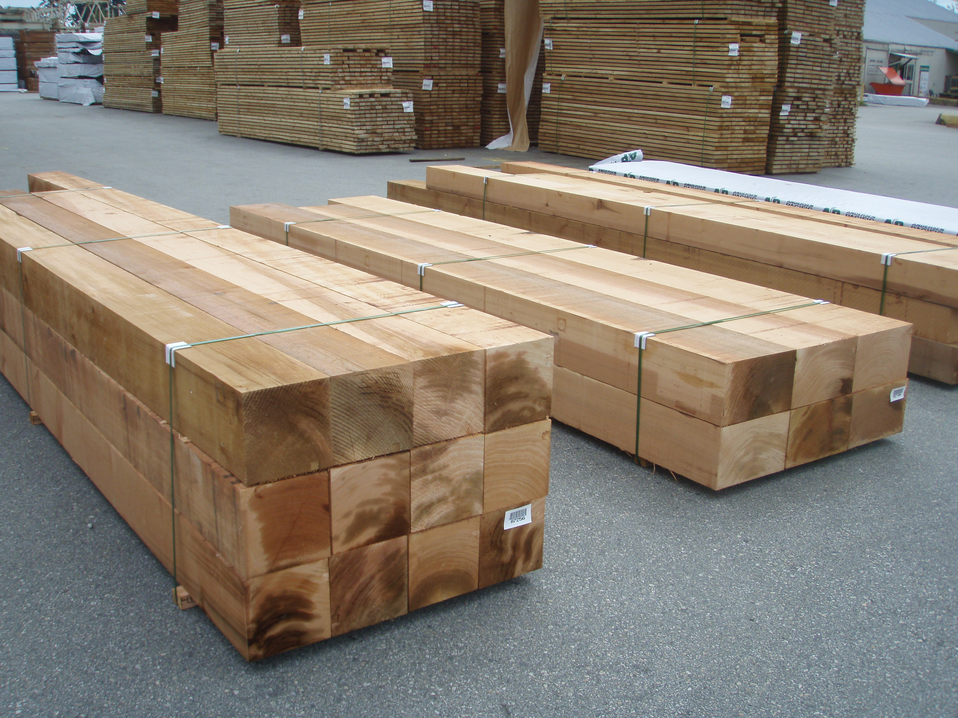 ClearTimber on the yard