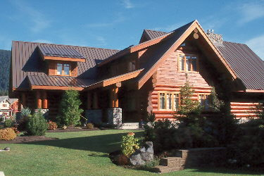 Finished Cedar Log Home 3