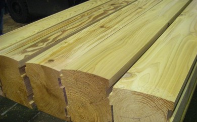 Appearance Special Order, log cabin siding - end