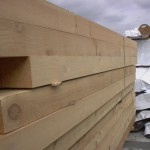 Appearance Knotty Timbers - outdoor close up