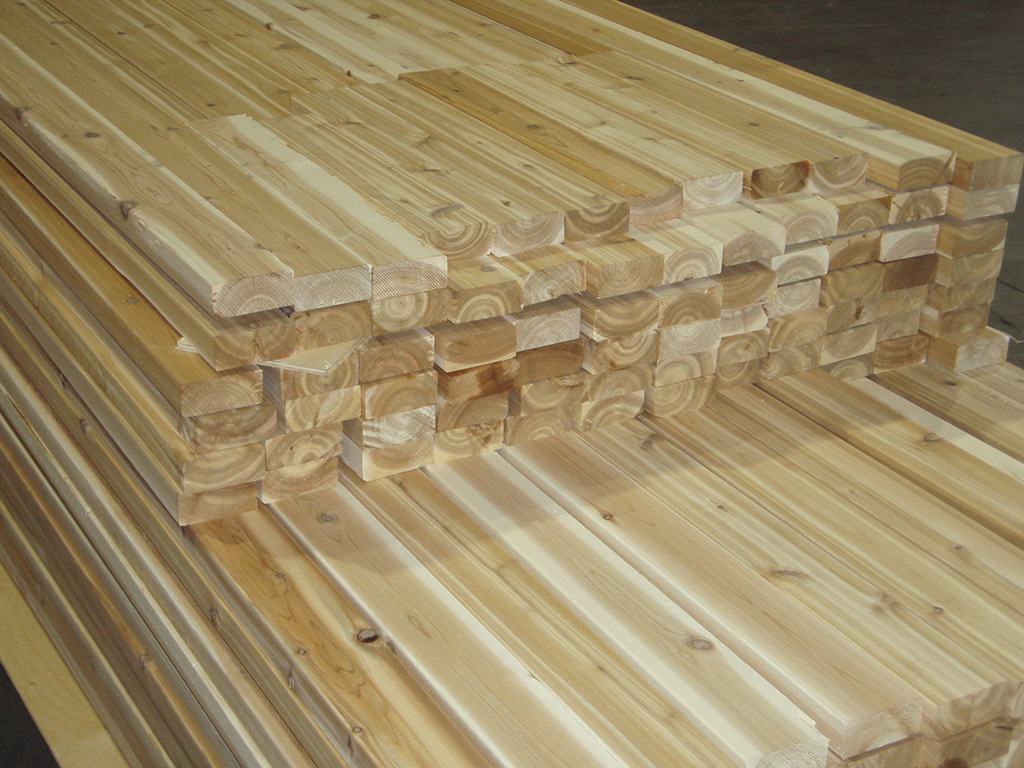 Powerwood Corp Select Tight Knot Cedar Powerwood Corp